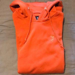 Men's EMPYRE sweatshirt hoodie burnt orange M